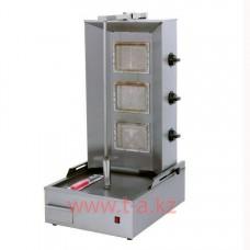 Донер аппарат профессиональный газовый с мотором ZH-91