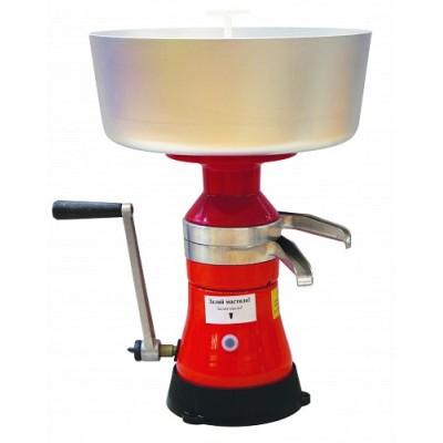 Сепаратор Мотор Сич СЦМР-80-09 ручной - это сепаратор с ручным приводом для разделения цельного молока на сливки и обезжиренное молоко с одновременной очисткой от загрязнения.