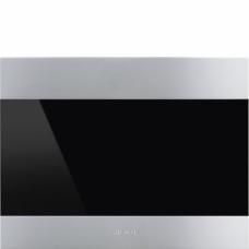 SMEG CVI321X3 Холодильный шкаф для вина встраиваемый, высота 45 см, петли справа, нержавеющая сталь Дверь перенавешиваемая