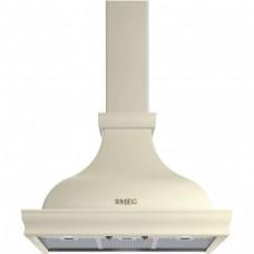 SMEG KCL900POE Вытяжка настенная, 90 см,кремовая, фурнитура латунная