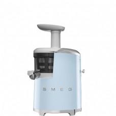 SMEG SJF01PBEU Шнековая соковыжималка, пастельная голубая,43 об/мин.