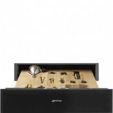 SMEG CPS115N Ящик сомелье, 60 см, высота 14 см, черное стекло, открывание PUSH.