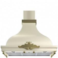 SMEG KCM900POE Вытяжка настенная,90 см, кремовая, фурнитура латунная