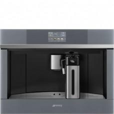 SMEG CMS4104S Автоматическая кофемашина, 60 см, высота 45 см, стекло Stopsol + нержавеющая сталь
