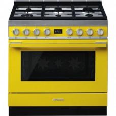 SMEG CPF9GMYW Отдельностоящий варочный центр, 90х60 см, желтый