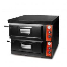 Газовая Пицца печь 60 см. Печь для пиццы двухуровневая