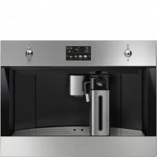 SMEG CMS4303X Автоматическая кофемашина, 60 см, высота 45 см, нержавеющая сталь, обработка против отпечатков пальцев