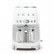 SMEG DCF02WHEU Капельная кофеварка, белый