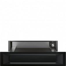 SMEG CPR915N Подогреватель посуды, 60 см, высота 14 см, цвет черный, открывание PUSH.
