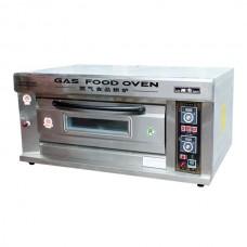 Пекарский шкаф газовый, 1 секция 2 противня