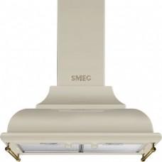 SMEG KC16POE Вытяжка настенная,59,5 см, кремовый, фурнитура латунная.