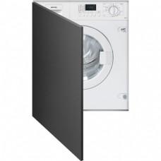 SMEG LSTA127 Встраиваемая стиральная машина с сушкой, 60см, белая.