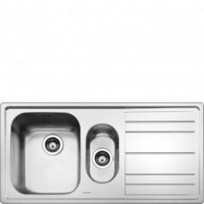 SMEG LEH102D Мойка. Установка с бортиком 4 мм, необорачиваемая, крыло справа