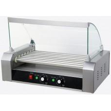 Роликовый гриль для жарки сосисок - 7 роликов премиум