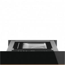 SMEG CPV615NR Вакууматор, 60 см, высота 14 см, черное стекло, открывание PUSH.