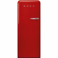 SMEG FAB5LRD3 Отдельностоящий минибар, красный, стиль 50-х гг., петли слева