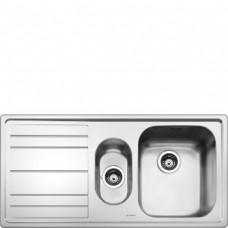 SMEG LEH102S Мойка. Установка с бортиком 4 мм, необорачиваемая, крыло слева