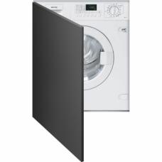 SMEG LSTA147S Встраиваемая стиральная машина с сушкой, 60см, белая.