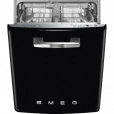 SMEG ST2FABBL2 Встраиваемая посудомоечная машина, черная, 60 см