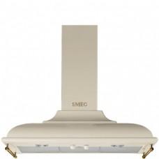 SMEG KC19POE Вытяжка настенная,89,5 см, кремовая