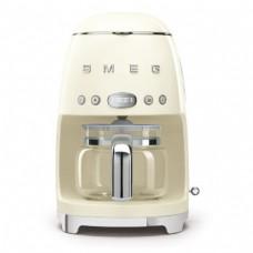 SMEG DCF02CREU Капельная кофеварка, кремовый