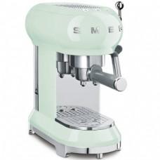 SMEG ECF01PGEU Кофемашина-эспрессо, пастельная зеленая