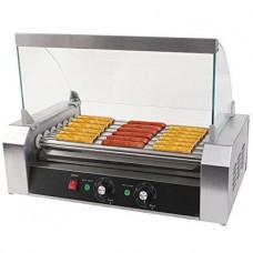 Роликовый гриль для жарки сосисок - 10 роликов