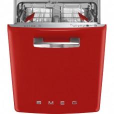 SMEG ST2FABRD2 Встраиваемая посудомоечная машина, красная, 60 см