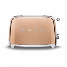 SMEG TSF01RGEU Тостер на 2 ломтика, цвет розовое золото