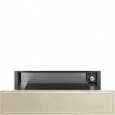 SMEG CPR715P Подогреватель посуды,60 см, высота 14 см, цвет кремовый, открывание PUSH.